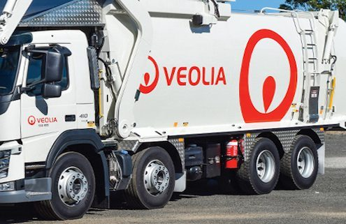 garbage truck by Veolia | Harbak Business Advisory and Consultancy