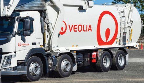 Veolia truck