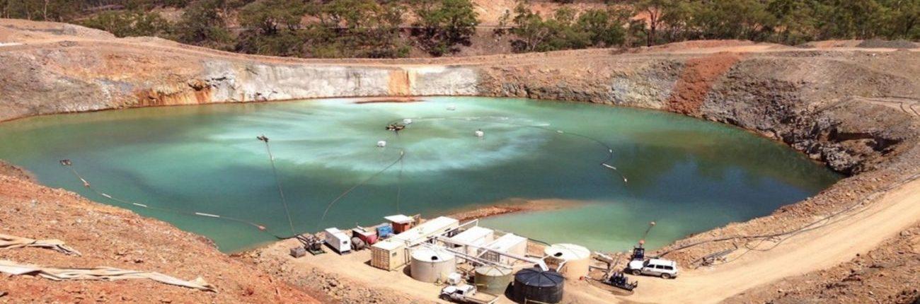 Mining Wastewater Pit